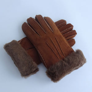 Very comfortable classical winter gloves warm