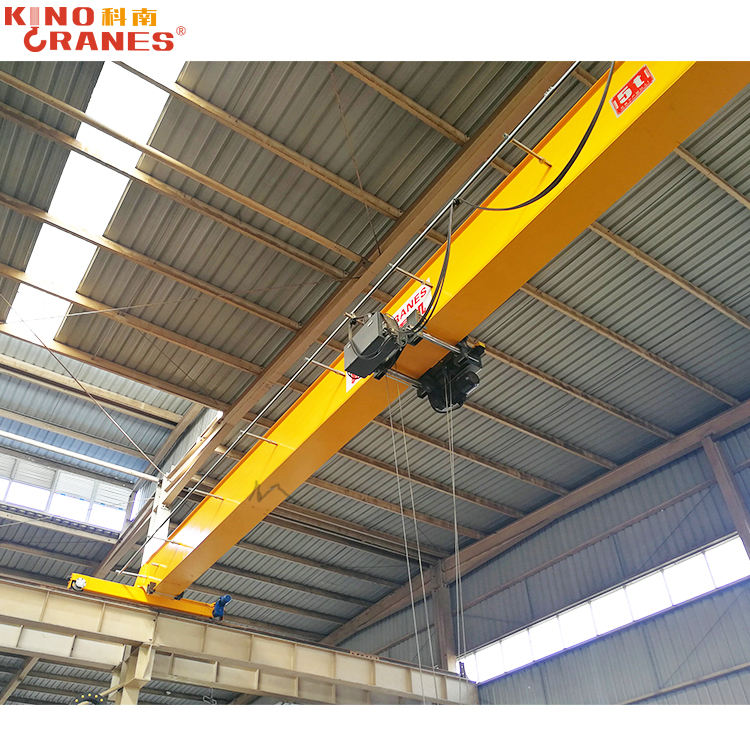 Single Ligger Elektrische Bovenloopkraan Indoor Lifting Apparatuur 1ton 5ton 7ton 9ton 10ton