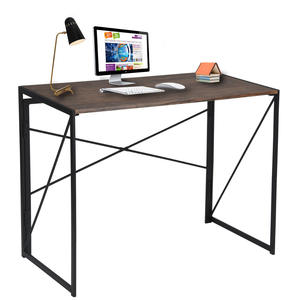 Modern Home foldable office furniture desk wooden folding office desk