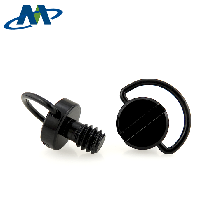 New High Quality Captive M6 Folding D Ring Adapter Camera Screw