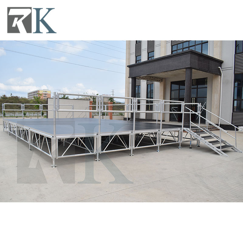high bearing platform event stage durable platform aluminum riser for outdoor event Truss Display