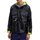 Windbreaker Windbreakerwindbreaker Windbreaker OEM Mens Pullover Windbreaker With Patch Pockets Hooded Jackets
