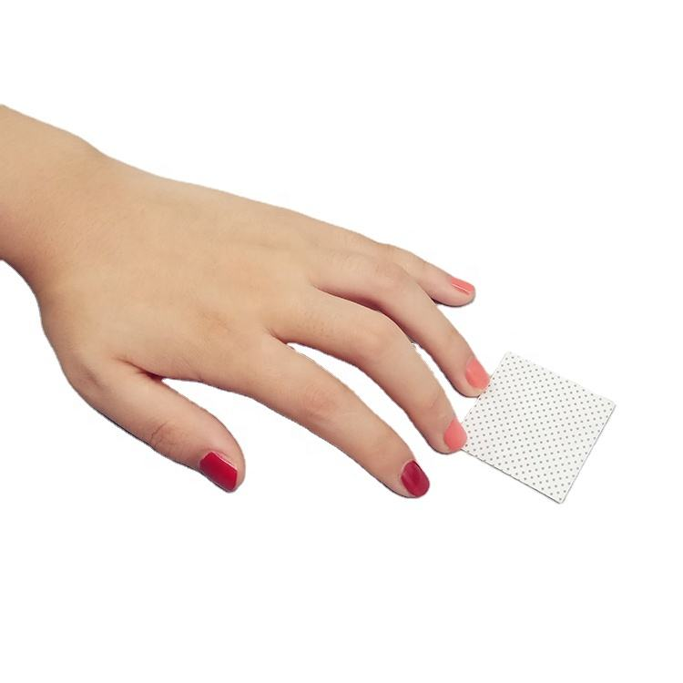 Disposable Nail Wipe 100 % PP 5 x 5 cm 70 gsm Nail Polish Remover Wipes
