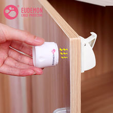 Adhesive Baby Proof Child Safety Magnetic Drawer Cabinet Lock