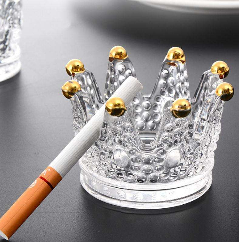Creative Multi Color Glass Ashtray
