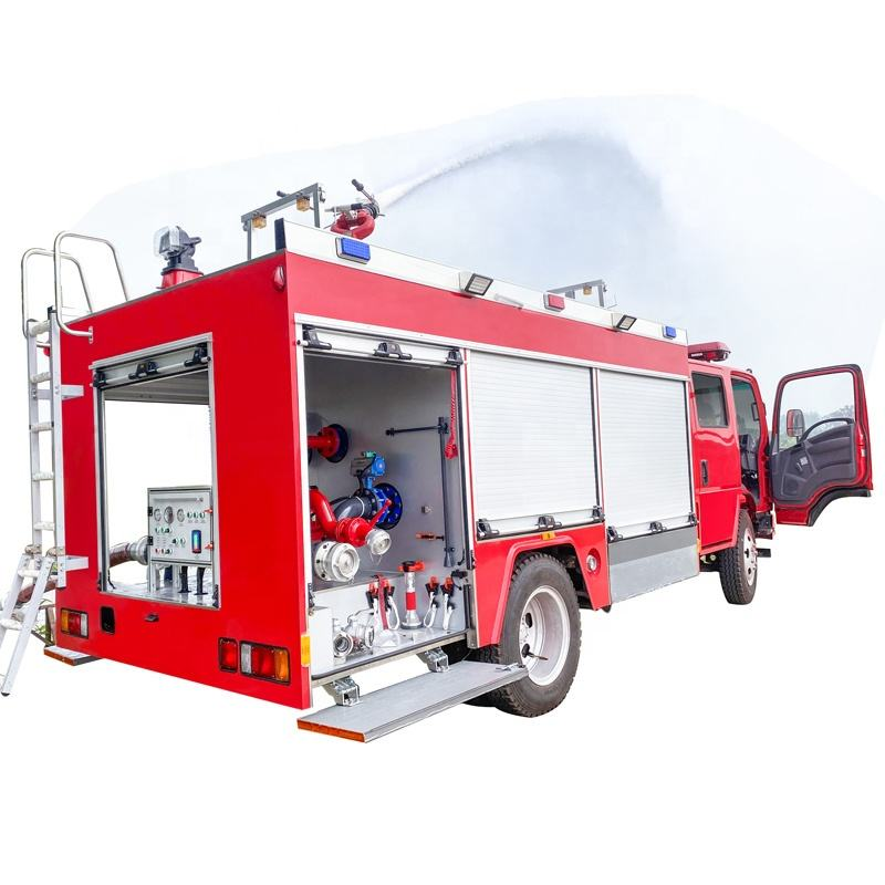 Name list of products new anti-corrosion design ISUZU sirens fire trucks