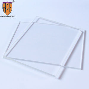 Transparant clear cast 3mm 4mm board reclame acryl glas