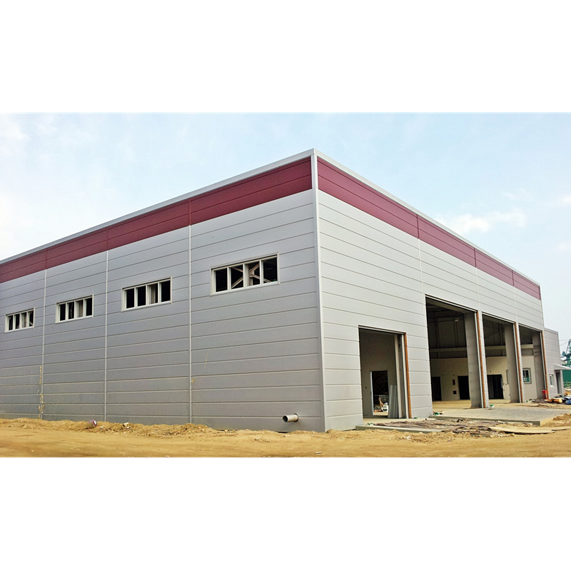 Prefab steel structure warehouse/plant frame steel buildings/prefabricated hangar