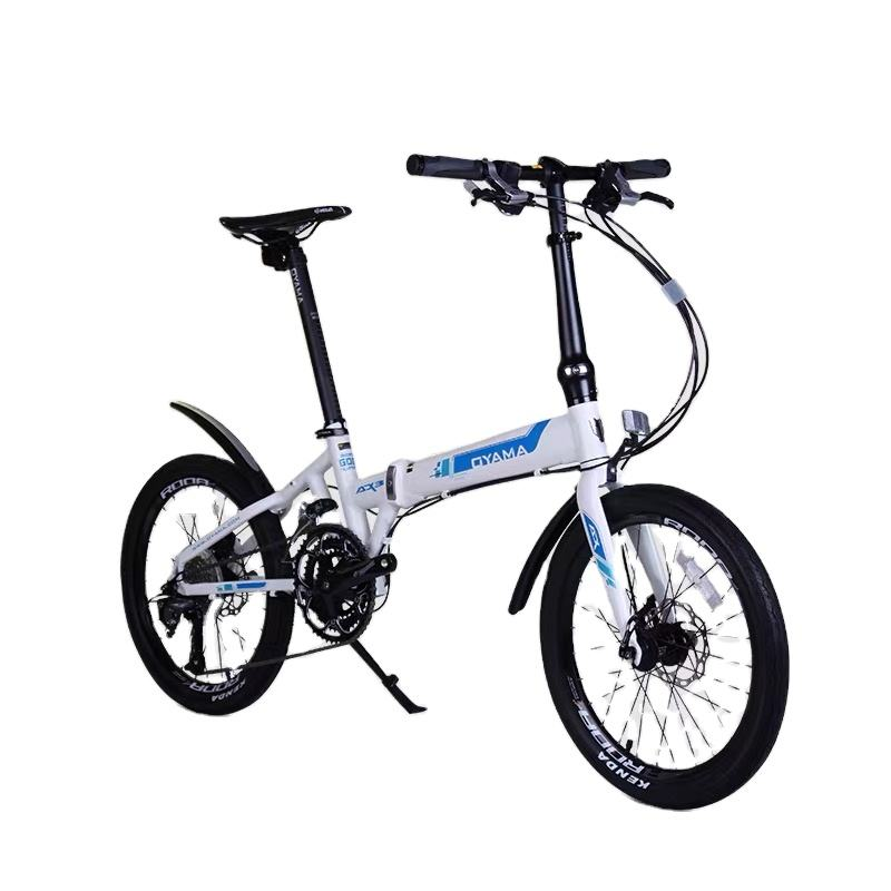 Long distance riding lightweight 27 speed 360 lock device folding bike OEM China factory