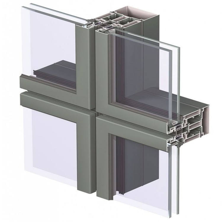 Topwindow Aluminum Thermal Break Movable Window Awning Glass Curtain Wall Price