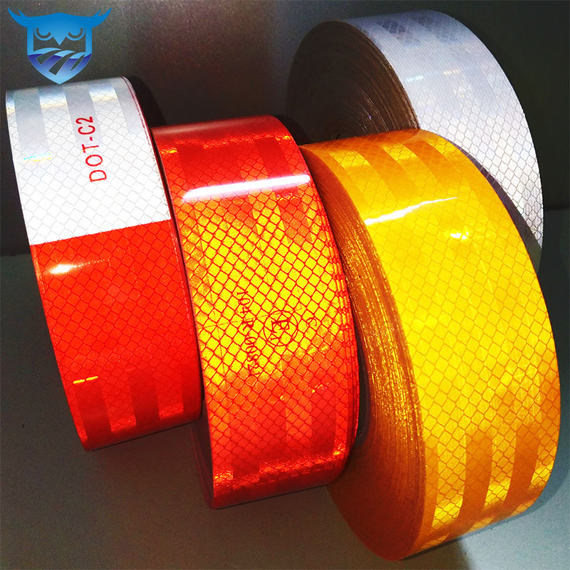 Acrylic [ Fluorescent Tape ] Fluorescent Tapes Reflective Fluorescent Adhesive Tape