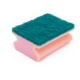 DH-A1-34 kitchen cleaning dish scourer soft sponge green pad scourer sponge scrubber sponge scouring pad for kitchen