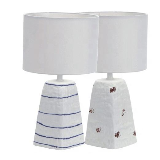 decal lamp ceramic night home decorated table lamp lighting