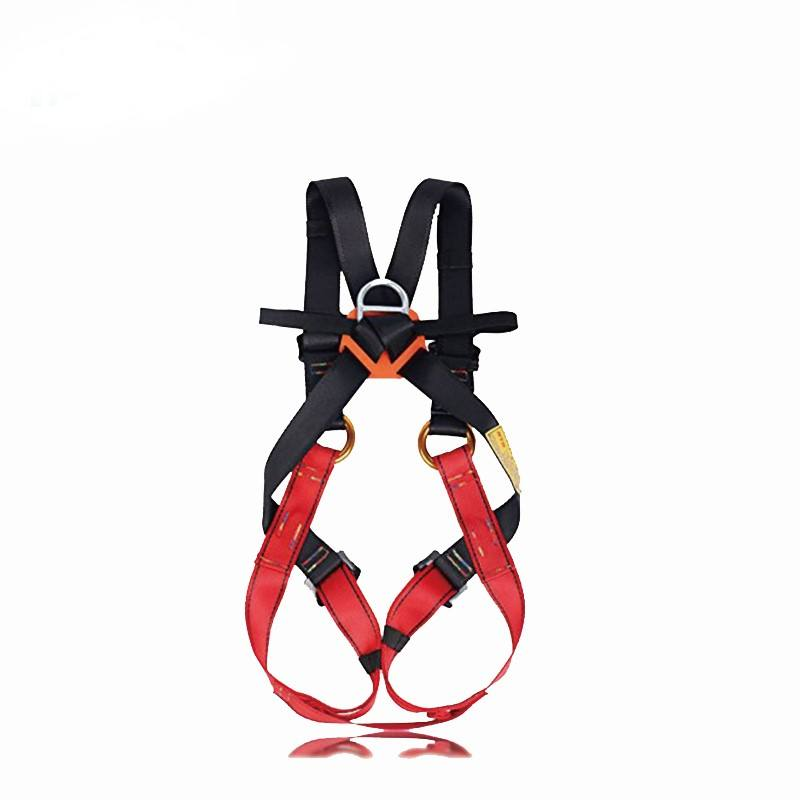 Cheap price personal protective climbing safety belt full body climbing harness