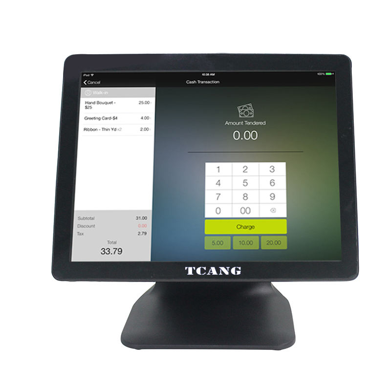 Pos Hardware Fabrikant 15 Inch Dual Screen Touch Kassa Smart Pos Terminal