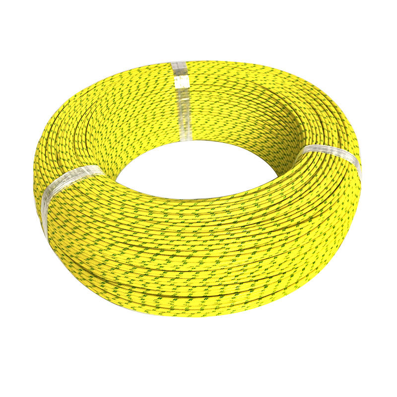 3122 Silicone Rubber high temperature Fiberglass Braided Heat Resistance Insulated Heating Wire QFR3122