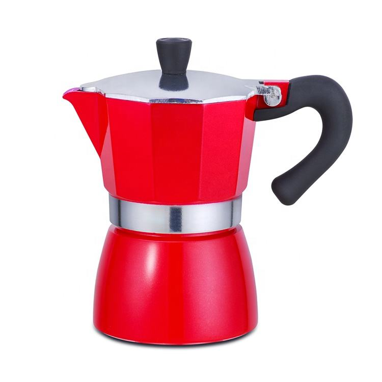 <span class=keywords><strong>Aluminium</strong></span> Gasfornuis Espresso Koffiezetapparaat Koffie Pot 3cups 6cups 9cups 12cups