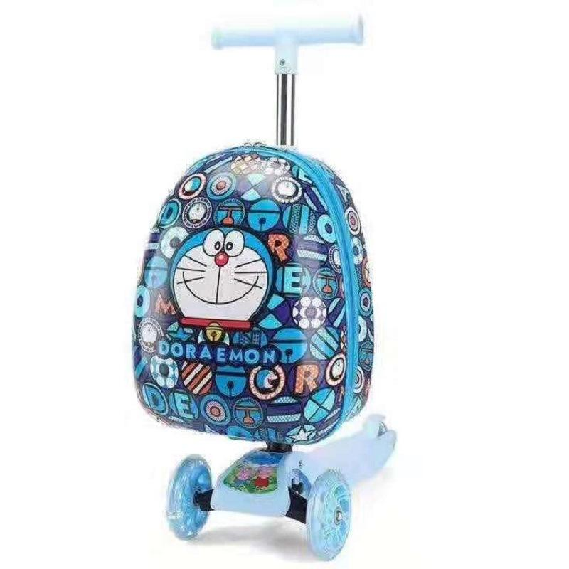 Wholesale multifunctional kids foldable Breathable kids backpack scooter for school for boys and girls for child