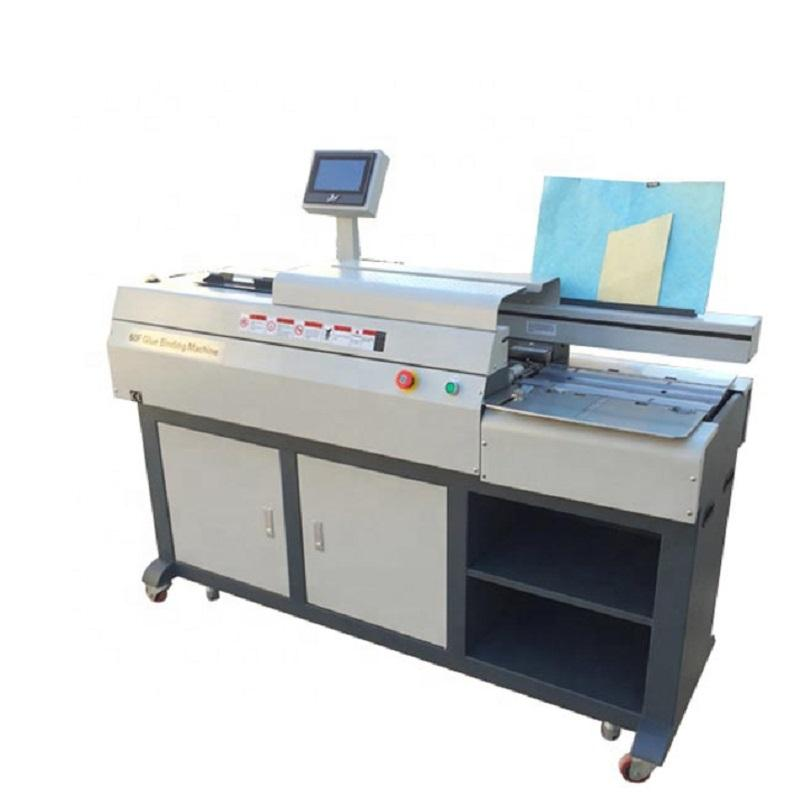 Office Equipment Perfect Hard Cover Book Binding Binder Machine For Sale