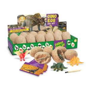 Dig a Dozen Dino Eggs Excavation Kit 12 Unique Dinosaur Eggs Dig Discover 12 Cute Dinosaurs Easter Archaeology Science STEM Toys