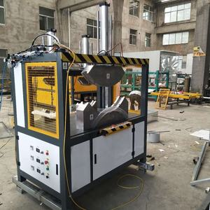 PVC plastic pipe and tube bending machine/plastic bending and belling two in one machine