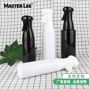 Masterlee Barber Hairdressing 140ml 180ml 250ml Flairosol Continuous Plastic Trigger Fine Mist Spray Bottle