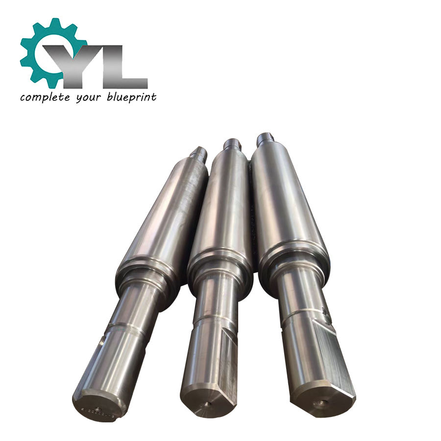Big Size Steel Mill Forging Steel Chilled Rolling Cast Iron Roller