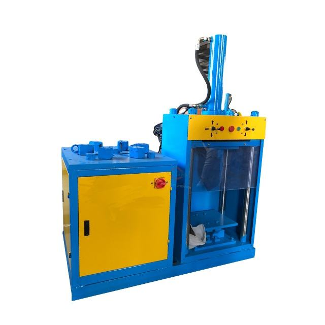 scrap electric motor stator breaker recycling machine ST-400 used motor wrecker machine in UK market