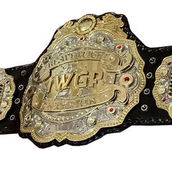 Fine Quality Championship Belt of Iwgp v4 With Fine Leather Strap