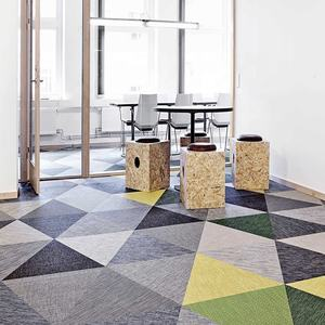 Waterproof Bolon Pvc Woven Vinyl Flooring For Hotel