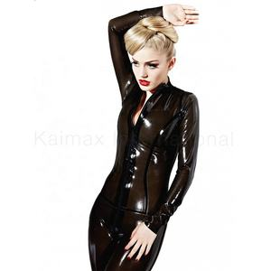 สบายซิป Full Body Fetish catsuit