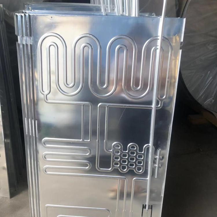 evaporator for cold room roll bond evaporator plate evaporator and condenser for refrigeration