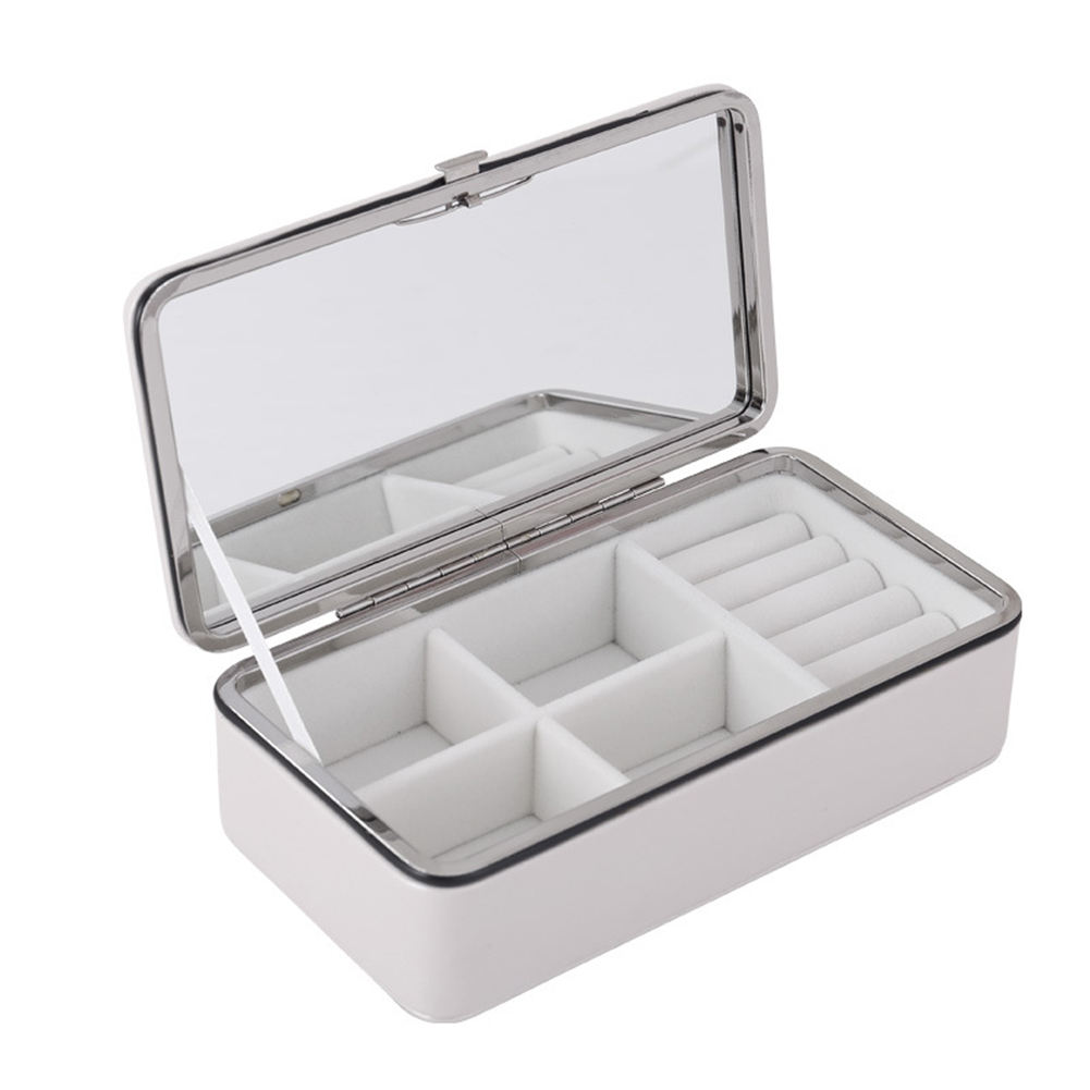 Jewelry Packaging Box Casket For Exquisite Makeup Case Cosmetics Beauty Organizer Container Graduation Birthday Gift Storage Box