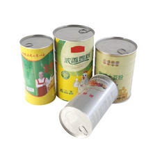Food seasoning packaging ring-pull tin can
