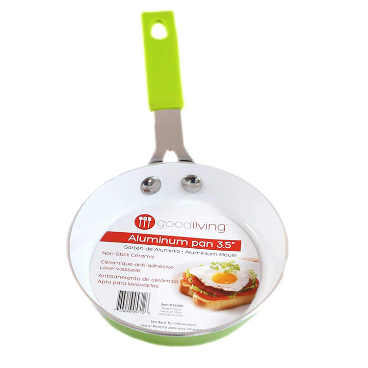 High quality cooking safe cookware egg ceramic non stick frying nonstick mini fry pan set for kitchen