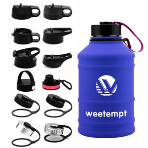 2020 New 2.2L 18/8 Stainless Steel Sport Bottle Large Water Bottle