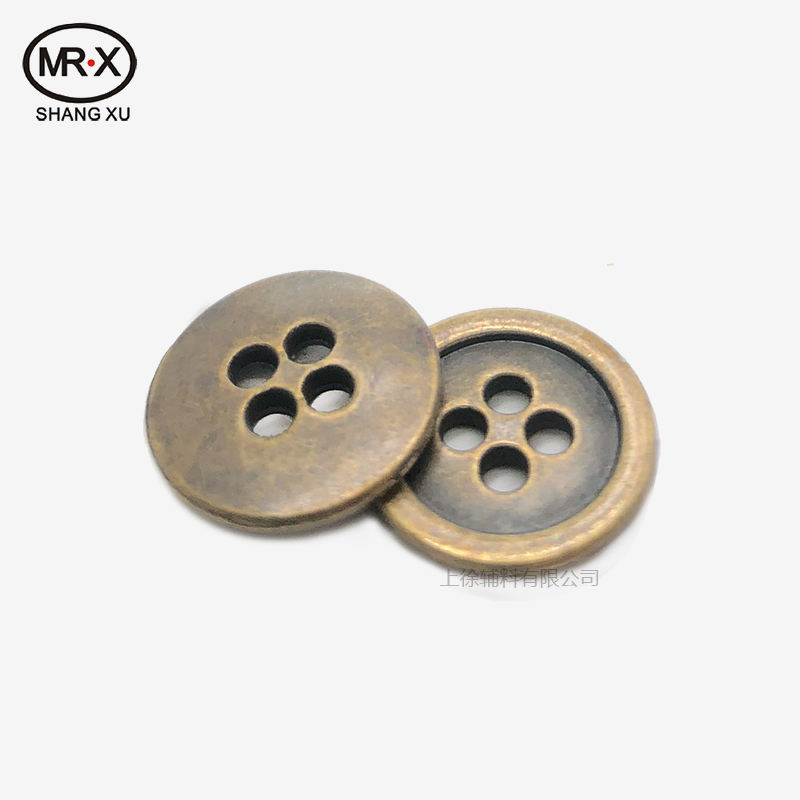 Manufacturers custom round zinc alloy has special price wholesale four hole hardware buttons