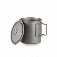 Hot Sale Outdoor Camping Single Wall Titanium Mug/Cup