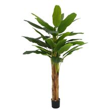 artificial Bonsai Home Office Plants Green faxu  banana tree 180cm