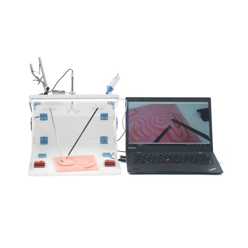 Laparoscopic Trainer Box with 1080P Camera, Laparoscopic Training box, Laparoscopic Simulator