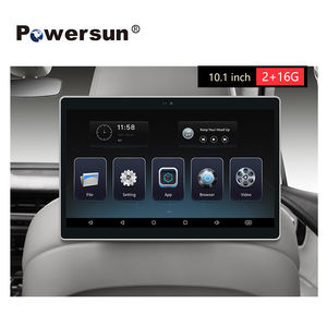 Hot 10.1 Inch car headrest monitor Android 8-Core WiFi monitor with mirror link HDMI output
