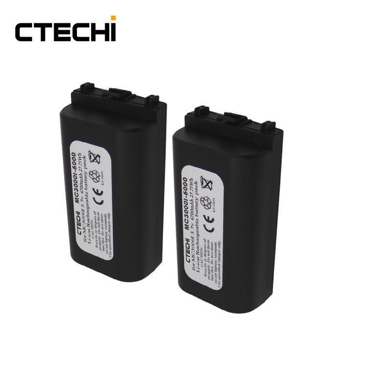CTECHi 3.7V 6700mAh Li-Ion Rechargeable Accumulator Pack Replacement Barcode Scanner Battery