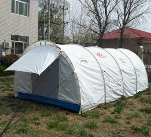 relief tent in stock emergency tent ready to ship refugee tent