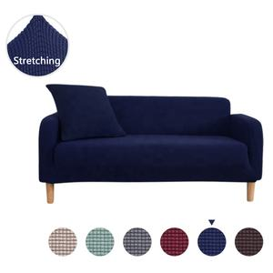 Spandex sofa cover stretch furniture slipcover machine washable loveseat cover 2 seater  sofa cover stretch