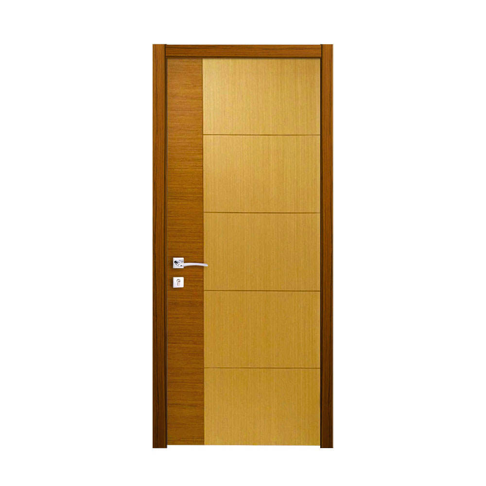 single design with groove composite wooden flush door solid wood grooved interior doors with frames