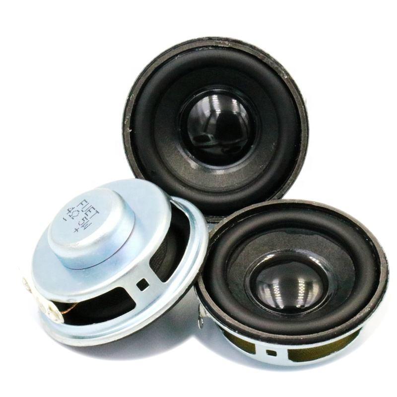 FUET Penguat Audio, 40MM 4Ohm 5W Rentang Penuh Speaker Mikro Bass Loudspeaker Audio