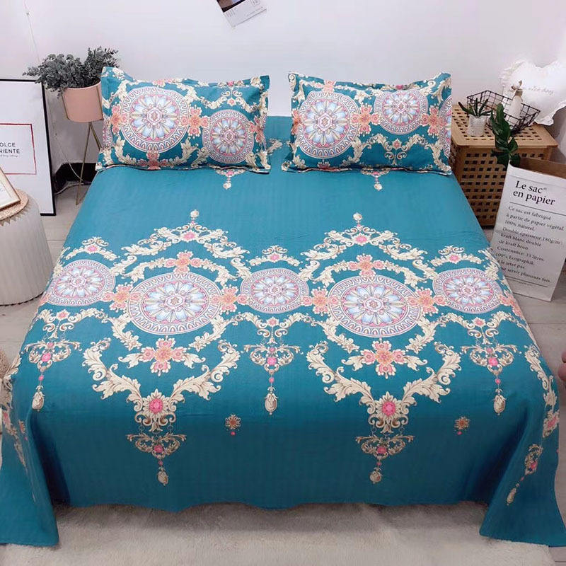 Explosive style cotton old coarse cloth three-piece cotton soft mat sheet