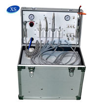 Quality ensure trolley portable dental unit with suction