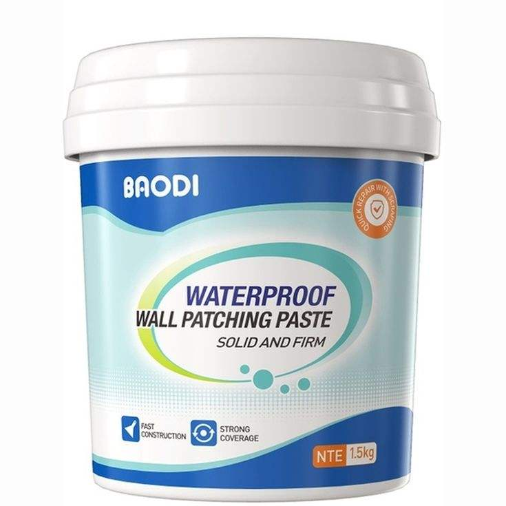 Waterproof and ready-to-use flexible weather-resistant acrylic putty for exterior wall and interior wall latex paint