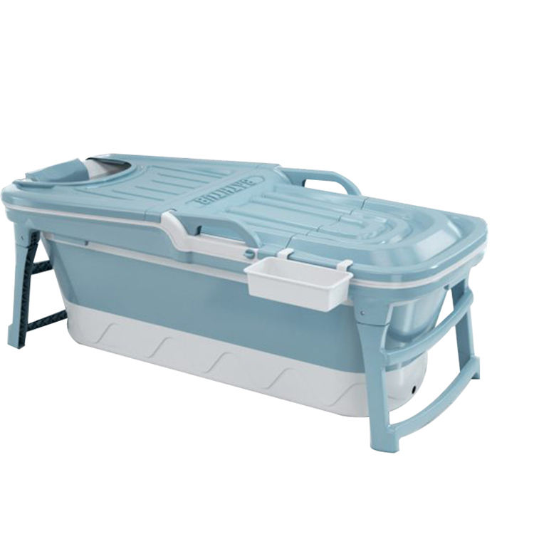 Hot product large 1280MM safe and firm portable folding plastic bathtub for adults